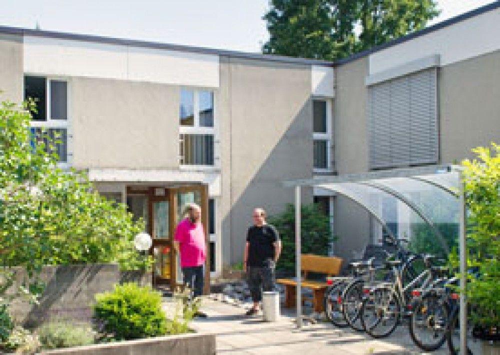 Eingangsbereich der Wohngruppe Hochfelden