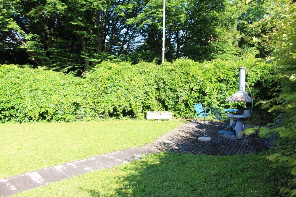 Garten des Wohnhauses Weinhof