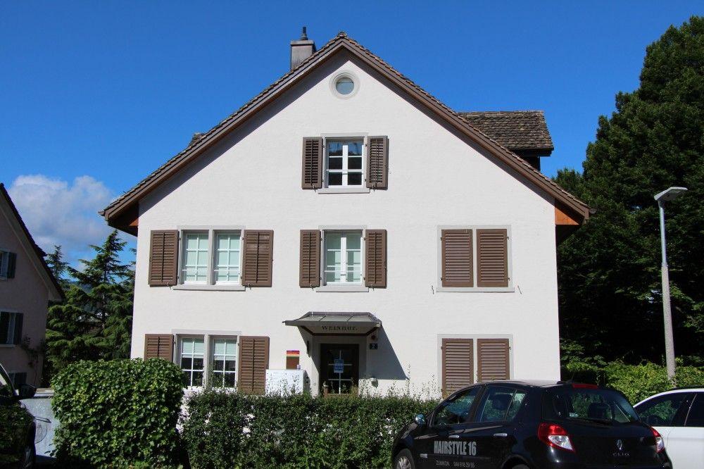 Das Wohnhaus Weinhof der Martin Stiftung