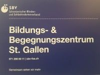 SBV Bildungs- und Begegnungszentrum St.Gallen BBZ