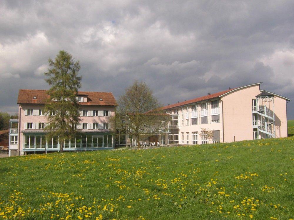 Wohnheime Haus Nord und Haus Ost aus südlicher Sicht