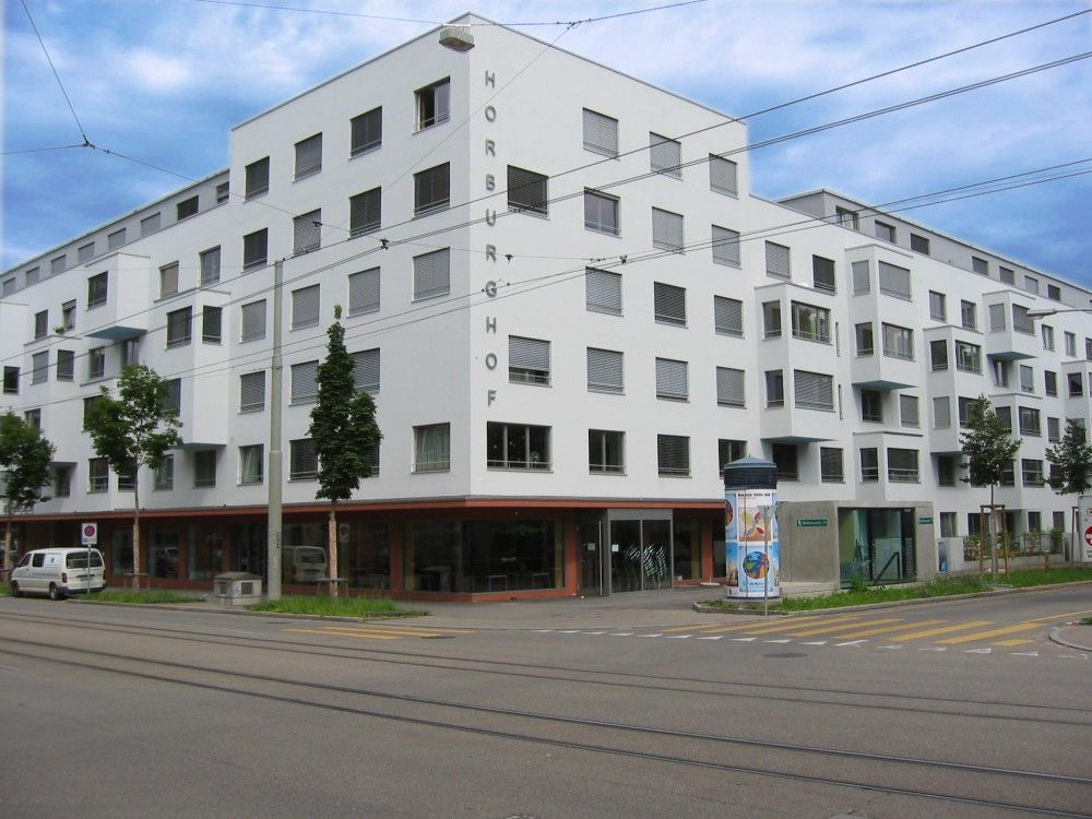 Aussenansicht Wohnhaus Horburghof