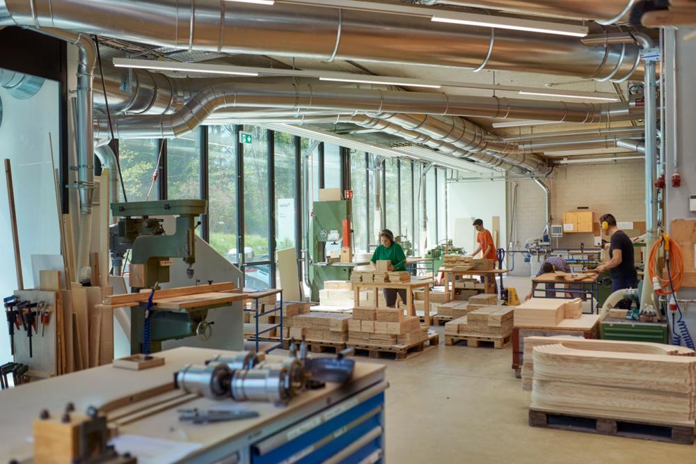 Schreinerei - Maschinensaal