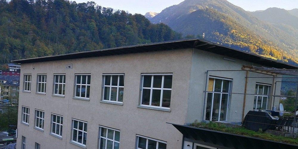 Die Wohngruppe Schönau im Hauptstandort in Schwanden