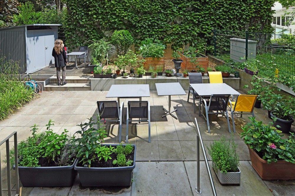 Garten Frauenwohnhaus