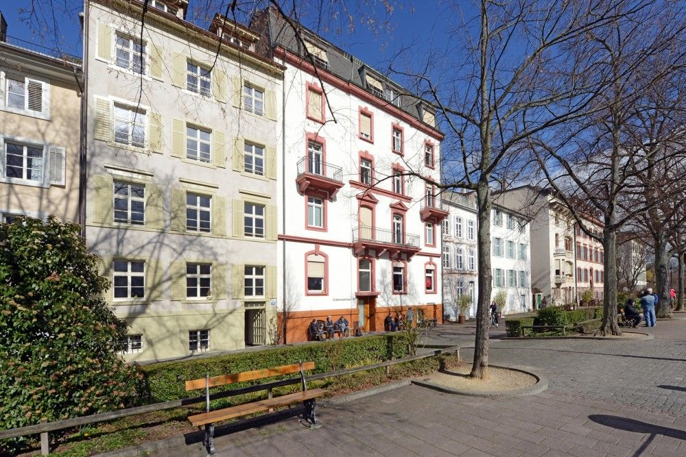 Aussenansicht Rhein Männerwohnhaus