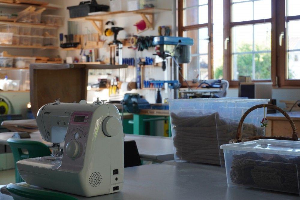 Werkstatt und Atelier