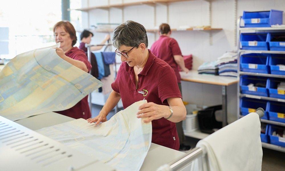 Geschützter Arbeitsplatz - Mitarbeiter/in Wäscherei