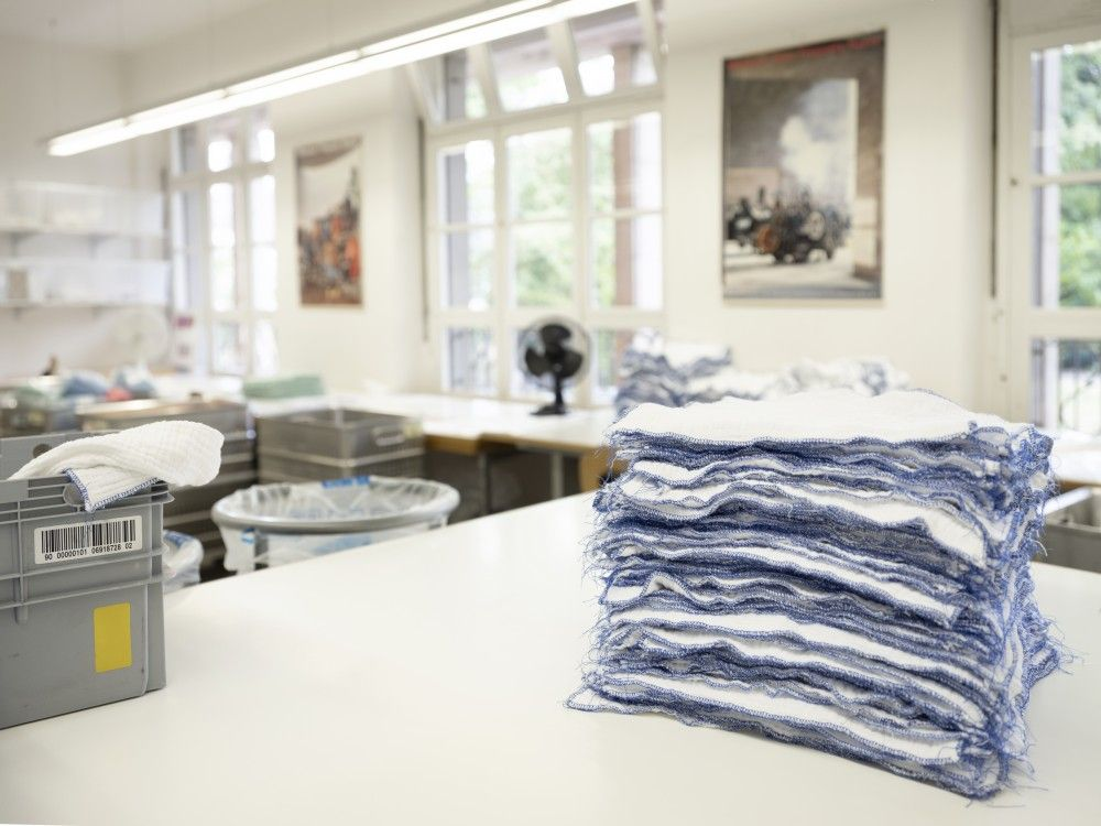 BSB Fertigung & Technik - Wäscheservice 50 % - 100 %