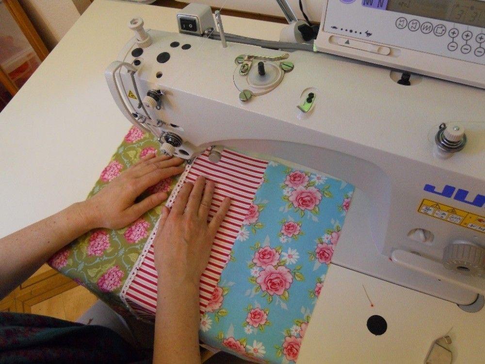 Angeboten wird ein geschützter Arbeitsplatz 80% - 100% im Textil-Atelier