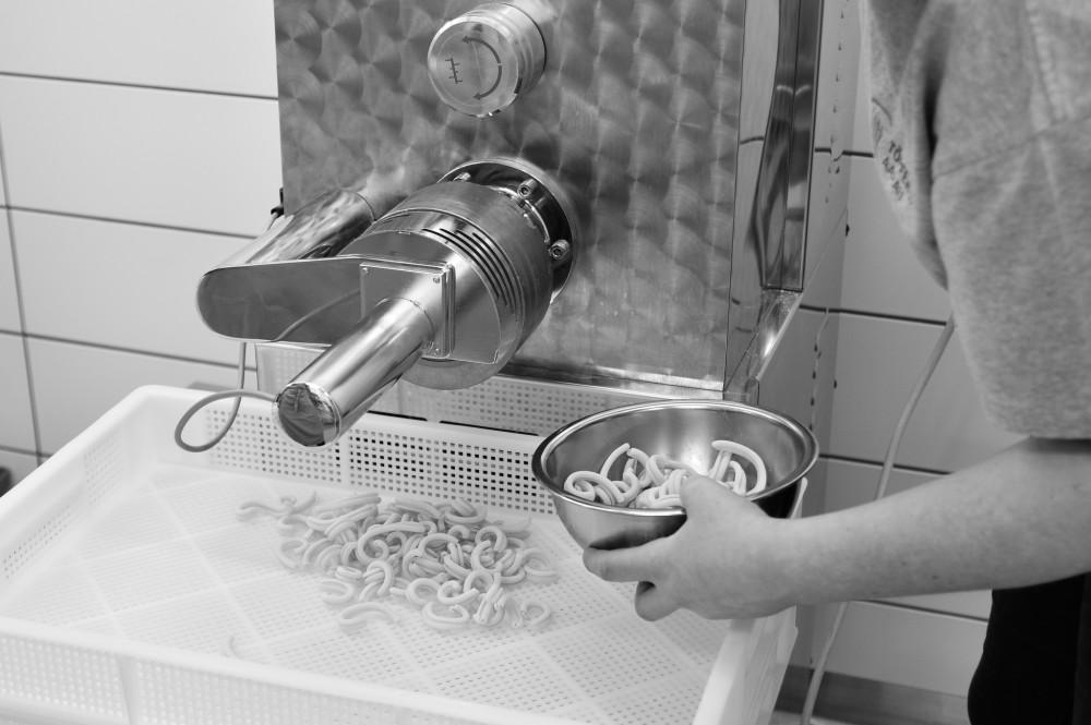 Produktion Teigwaren