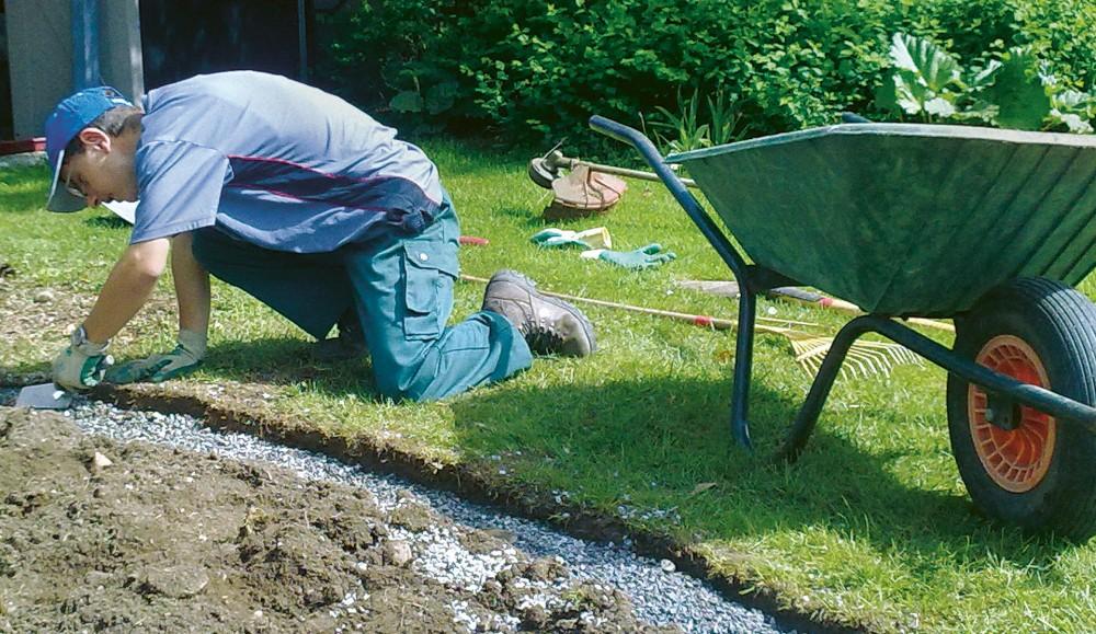 Gartenbau- und Gartenpflege